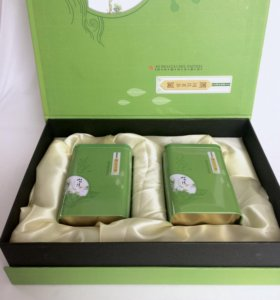 """Чайный подарочный набор """"Свежесть зелени"""""""