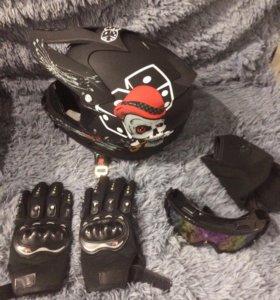Новый мото шлем