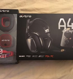 Astro A40 TR + Mod kit red