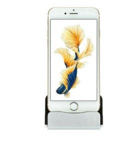 Синхронизатор,зарядка-подставка для IPhone.