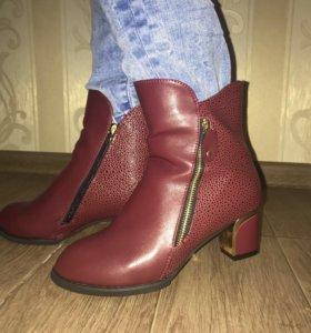 Новые Ботинки размер 39