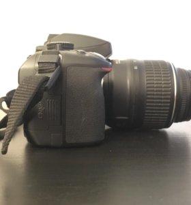 Фотоаппарат nikon d5100 + вспышка + карта памяти