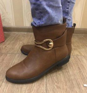 Ботинки новые, покупали в Степе