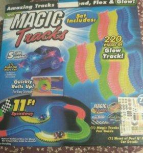 Набор Magik tracks на 220 деталей+ машина