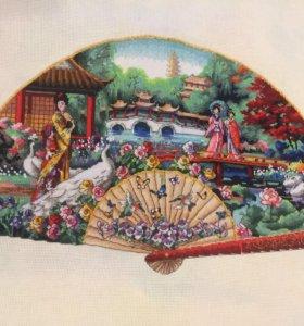 Садовый веер