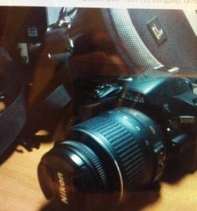 Зеркальный фотоаппарат Nikon D3200 Kit 18-55mm vr