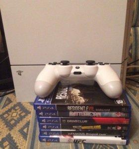 PlayStation 4 + 6игр