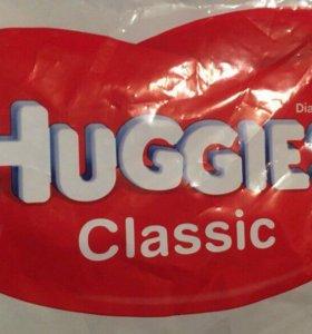 Памперсы Haggies Classic
