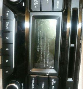 Штатная аудиосистема от Hyundai Creta Новая
