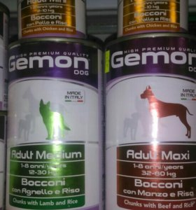 Консерва для собак Жемон