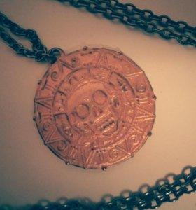 Золото Ацтеков (медальон)