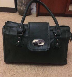 Зелёная сумка