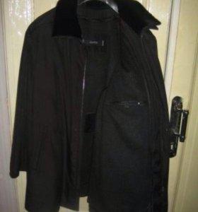 Новая зимняя мужская куртка/полупальто