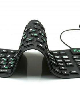 Силиконовая клавиатура, не боится воды Dialog.