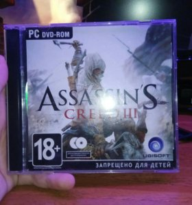 Диск assassins creed 3 ПК