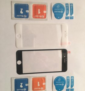 3D защитное стекло на iPhone 6-6s.
