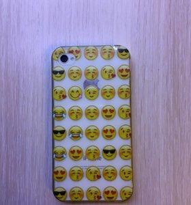 Чехол на айфон 4 s (4)