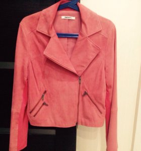 Куртка замшевая DKNY