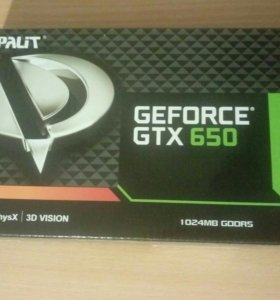 Palit GTX650 1Gb DDR5