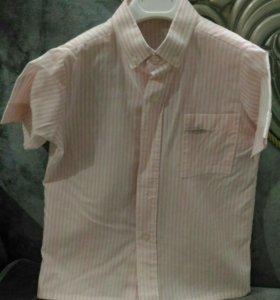 Рубашка на мальчика б/у