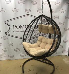 НОВОЕ Подвесное кресло из ротанга.