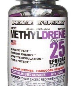 Жиросжигатель Methyldrene 25 Elite stack