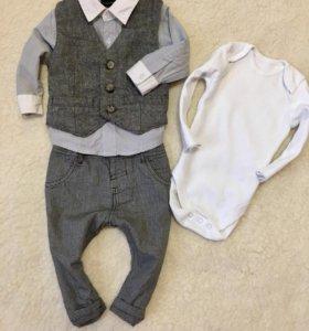 Одежда на мальчика 3-7мес