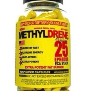 Жиросжигатель MethyDrene 25 Eca stack