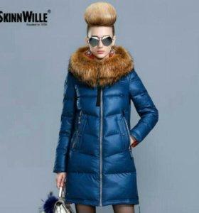 Стильная куртка пуховик