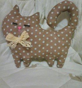 Котик из ткани