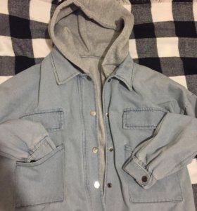 Джинсовая куртка (2в1)