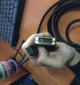 Кабель HDMI - DVI-D