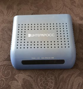 Модем Интеркросс ADSL2+