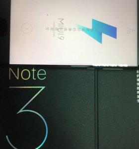 Xiaomi Mi Note 3 (6gb+64gb) запечатанные