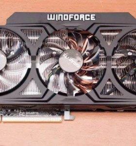 Продам Gigabyte Radeon R9 290 4Gb в идеале