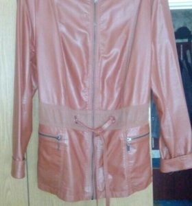 Куртка женская из эко кожи р 56-58