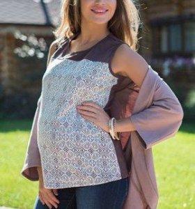 Блузка и жакет для беременных