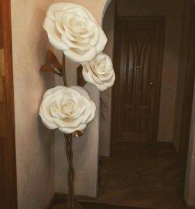 Ростовые цветы .фоамиран