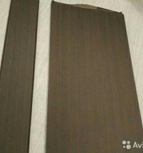 Доборы для входной двери цвет венге тисненый