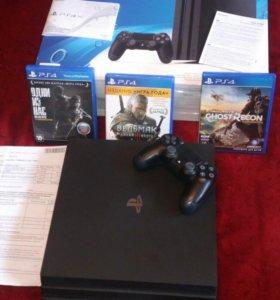 Игровая консоль PlayStation 4 Pro 1Tb (CUH-7008B)