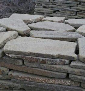 Натуральный камень песчаник-пластушка