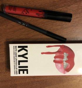 Стойкая помада KYLIE+ карандаш
