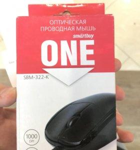 Оптическая проводная мышь