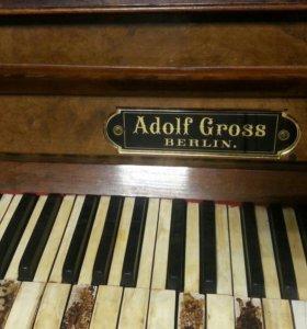 Пианино Adolf Gross BERLIN.конец 19 начало 20 века