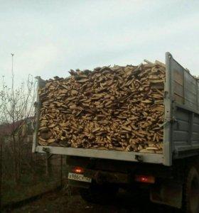 Обрезки, дрова дубовые с пилорамы