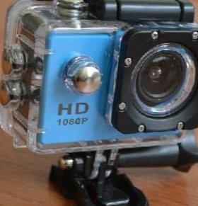 Экшн камера, съемка в HD, водонепроницаема.