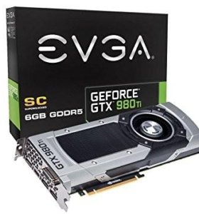 EVGA GeForce GTX 980ti 6GB