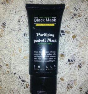 Черная маска для очищения кожи