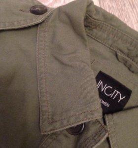 Новая джинсовая куртка Incity