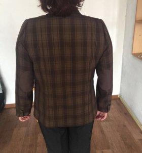 Пиджак клетчатый